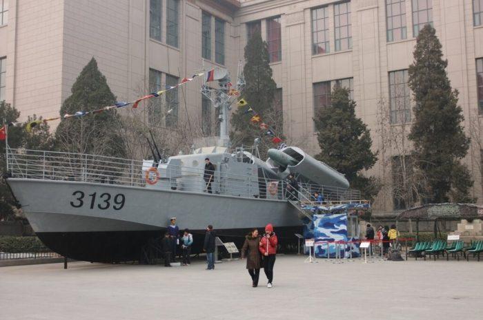 Бегом по Военному музею Пекина