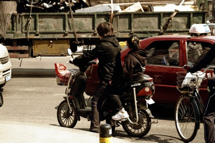 Двухколёсный Китай