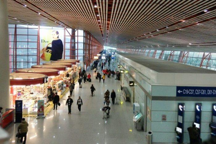 Аэропорты в Китае