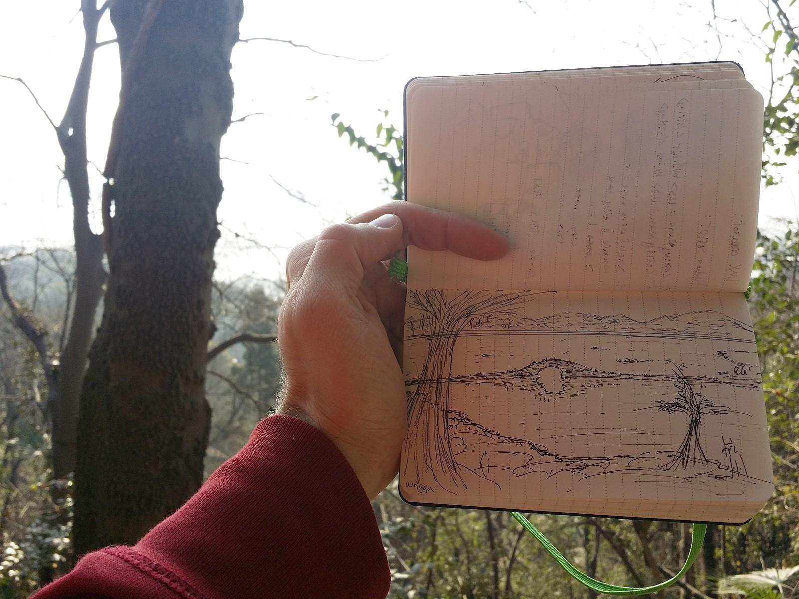 Xihu doodling