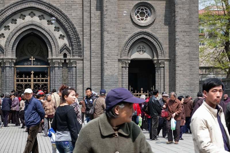 Пасха в Китае: Шэньян, 2011