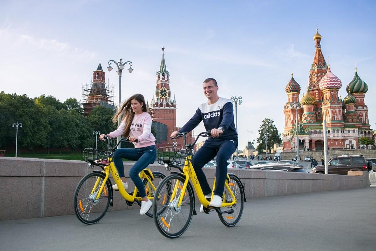 Велосипеды Ofo приходят в Россию
