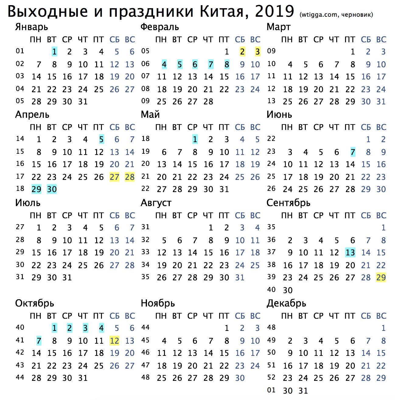 Праздники 30 апреля 2019 года